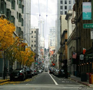 Streets of San Fran by JNS0316