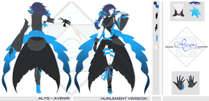 CONCEPT ART || ALYS - Avenir, Hurlement Version by T-a-t-s-u-k-i