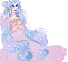 princess serenity by snownymphs