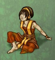 Toph again by Totalrandomness
