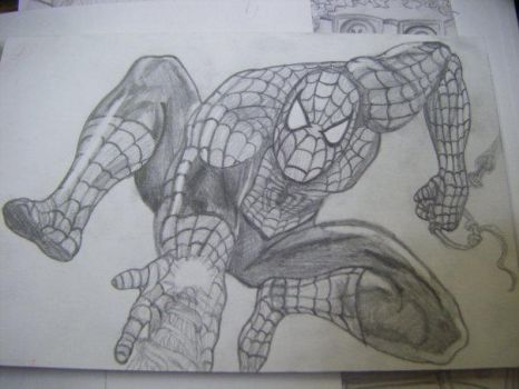 Spiderman by pinkpoison888