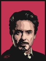 Robert Downey Jr by snikers15