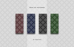 Pack of patterns by Nyx-art