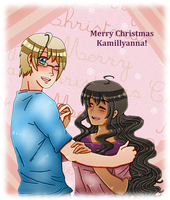 [GANG SECRET SANTA] Kamillyanna by melonstyle