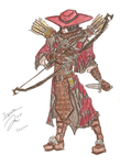 Inquisitor: Colored Pencils by Draxen