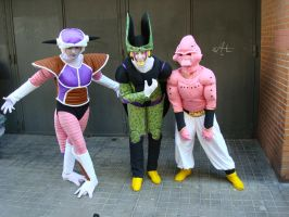 Dragon Ball popurri cosplay by FoGone