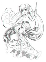 Wind and Sea by hollyfig