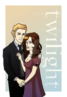 Twilight : Carlisle and Esme by Marc-G
