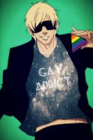 BD present for Nyunyi - Love Addict by bluegayfish