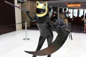 Anime World Chicago 2012 Durarara Celty by skycloudwolves