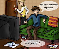 The Holmes Philosophy On LOST by teramiku