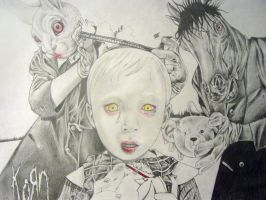 Korn-See You On The Other Side by HoustonTxArtist