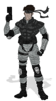 Solid Snake by conquerorsaint