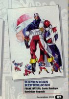 Dominican Hero by Likodemus