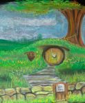 The Little Hobbit Hole by african-artist