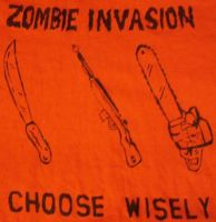 Zombie Invasion: Choose Wisely by Calcifer-Boheme