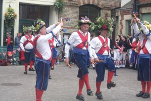 Morris dance 45 by PsychicHexo