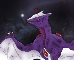 Kaiju: Mother Of All [Queen-Gyaos] by Cyprus-1