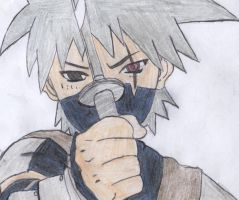 Kakashi Hatake - As a Kid by DragonaTalon