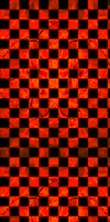 Lava Fractal Checkered Custom Box Background by darkdissolution