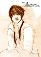 Will Herondale - Sketch by TownOfWolves