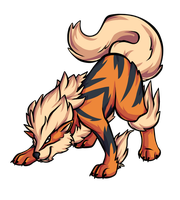 Arcanine by Ashteritops