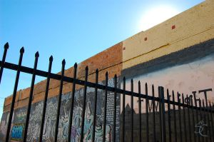 El Centro graffiti by ShannonCPhotography