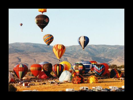 Balloons near Sparks NV by NVMTNGOAT