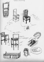 Study of Chairs by M4geOfSp4ce