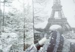 Snow in Paris by Ariane-S