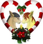 [Commission] Happy Holidays! by WithoutAVoice