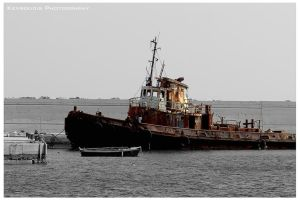 Old Tugboat by Kevrekidis