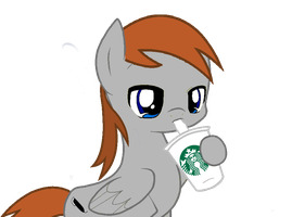 Scribbles Loves His Coffee by MLP-Scribbles