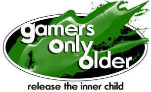 Gamers Only Older Logo by GirlNamedEd