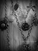 We forge the chains we wear in life by Aidylvice