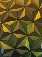 Close up of Epcot Spaceship Earth by Mike-The-Winner