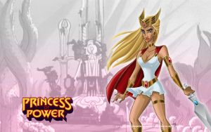 Princess of Power by aceswordsman