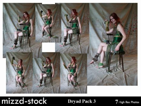 Dryad Pack 3 by mizzd-stock