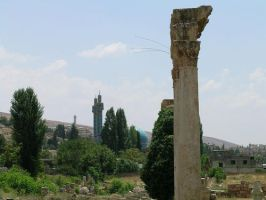Ruins at Baalbek by DarkWarlord10k