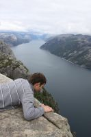 Preikestolen, Norway4 by Hildemarie