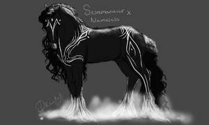 Sesamantur x Nameless by Frozenstallion