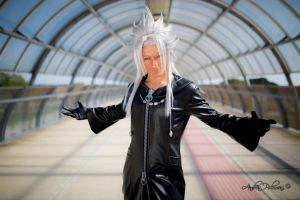 Xemnas Cosplay - Kingdom Hearts 2 by Leon Chiro by LeonChiroCosplayArt