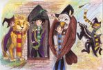 The School of Witchcraft and Wizardry by FG-Twins