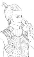 Balthier Final Fantasy XII WIP by the-caffeine-queen