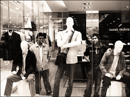Mannequin Wannabes by bl00dsoaked