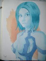 Cortana Watercolor by jrceballos