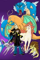 Pokemon team by LadyGawain