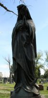 Mount Olivet Cemetery Mary 183 by Falln-Stock