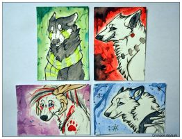 ACEO Batch 2 by Crimson-Asylum