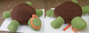 Michelangelo Pillow Plush (TMNT) by nenfere